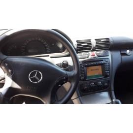 Mercedes C270, 2.7 cdi, автоматична скоростна кутия, 2003 г НА ЧАСТИ